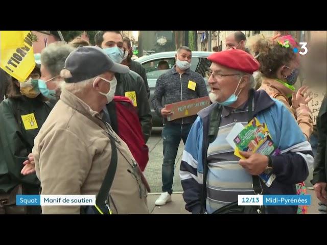 Procès de la réquisition du 36 rue roquelaine - 25/09/2020