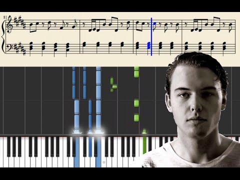 Otto Knows - Next To Me - Piano Tutorial