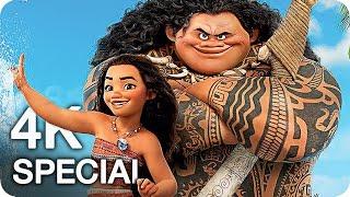 Disneys MOANA Trailer, Clips & Featurette 4K UHD (2016)