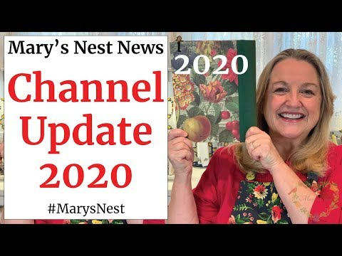Mary's Nest 2020 Channel Update Traditional Nutrient Dense Foods Recipes, Meal Planning, and More!