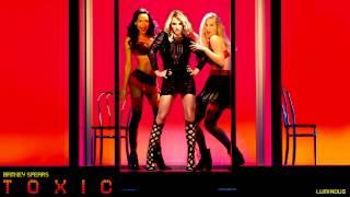 Britney Spears - Toxic (Glee Version + Britney's Vocals)