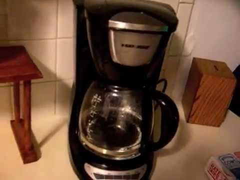 Black And Decker Coffee Maker Does Not Work : Black & Decker DCM100b Coffee Maker Review - YouTube