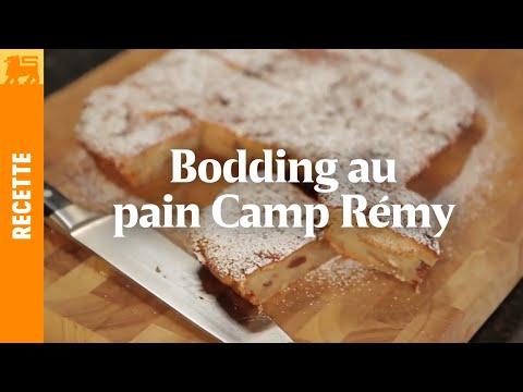 Bodding au pain Camp Remy