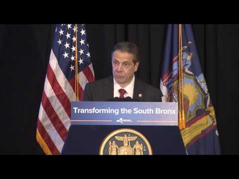 Governor Cuomo Makes an Announcement