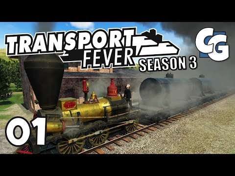 Transport Fever - S03E01 - New Industries & 4x Slower - Tran