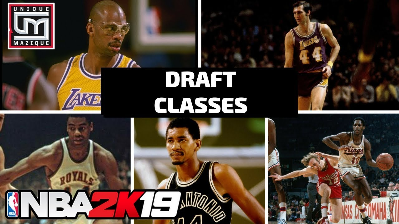 NBA 2K19 MyLeague | Highlighting The Historic Draft Classes