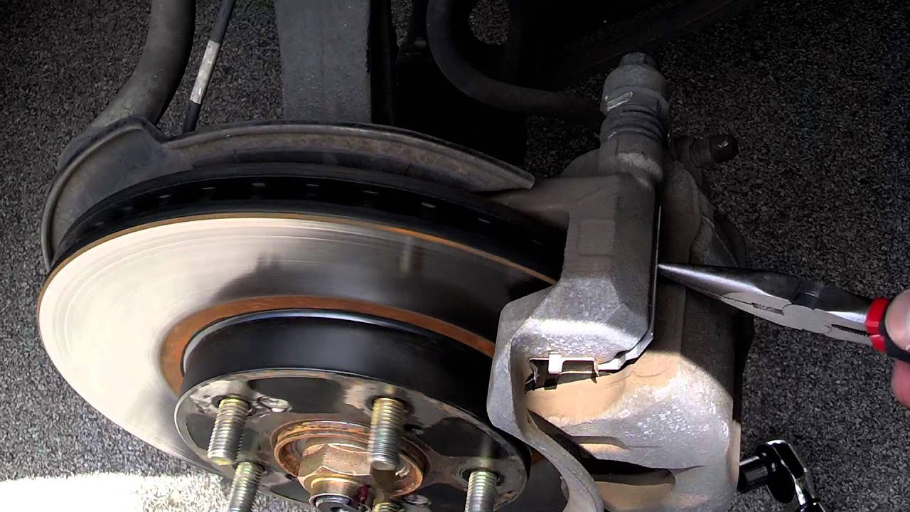 2005 Accord V6 Front Rotor Scraping Noise - Fix - YouTube