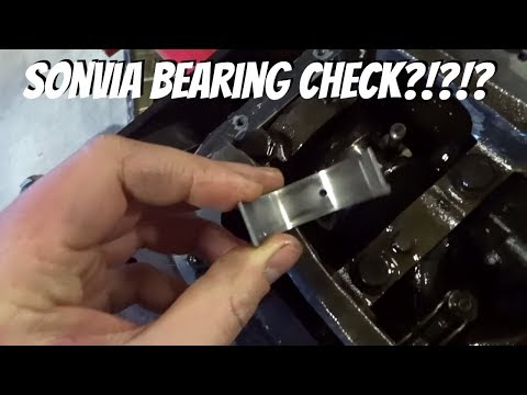 Sonvia Rebuild | Bottom end Bearings inspection