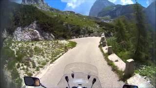 TK750C moto výjezd č.2 - Mangrtská cesta Slovinsko