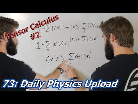 Tensor Calculus For Physics Majors 002 | Vector Transformations and Vectors as Matrices