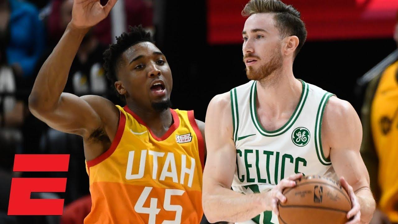 Gordon Hayward Returns To Utah In Celtics Loss Vs Jazz Nba