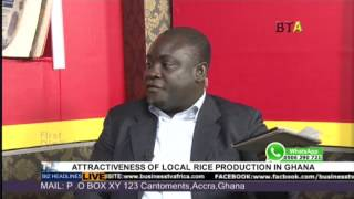 LOCAL PRODUCTION OF RICE IN GHANA ON AGRI BIZ