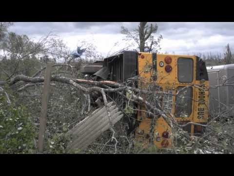 June 1 2011 Brimfield Sturbridge Tornado footage