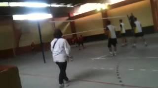 Jogo de vôlei - Américo x Celso Daniel