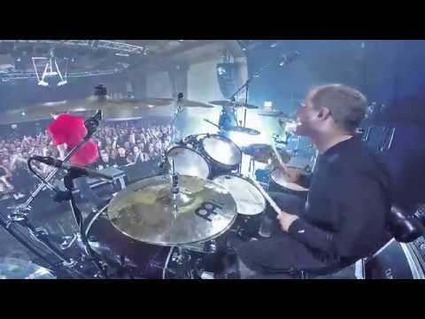 HEAVEN SHALL BURN@Passage of the Crane-Chris Bass-live in Czech Republic 2018 (Drum Cam)