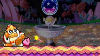 Kirby: Nightmare in Dream Land: Level 8: Fountain of Dreams + 100% Normal Ending