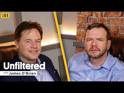 Sir Nick Clegg interview on the coalition, David Cameron & Brexit | Unfiltered James O'Brien #17