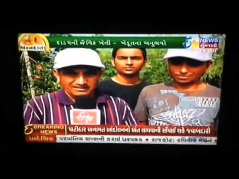 Aashirwad organic Farm (News on television)