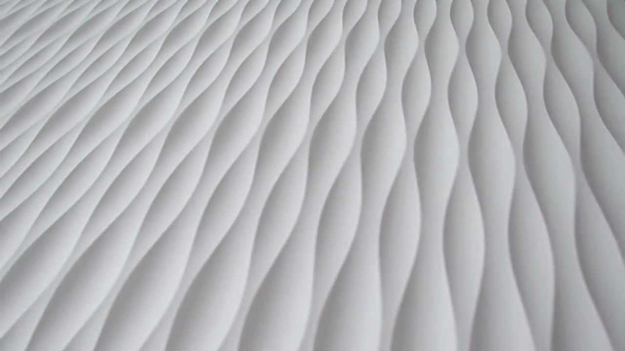 2012 Qs Tides Wave Wall Panel Youtube