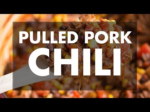 Leftover Pulled Pork Chili With Ray & Stevie | REC TEC Grills
