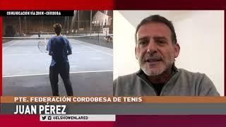 El Pte de la Federación Cordobesa de Tenis, en El Show en La Red.