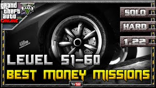 GTA 5 Online - Best Money Missions for Mid Level Players 1.22 (Farming Guide SOLO Hard GTA V 1.21)