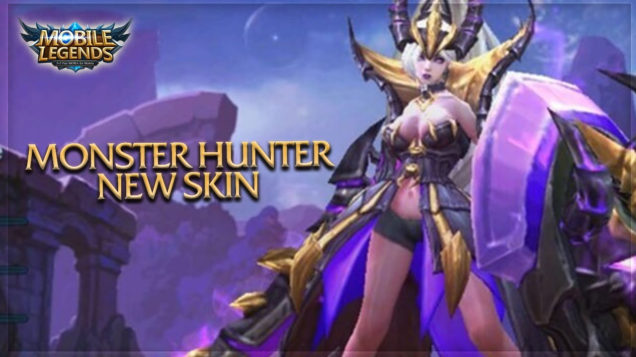 Mobile Legends Freya Monster Hunter Skin