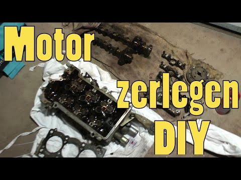 Motor zerlegen | Daihatsu Cuore returns! Teil 2