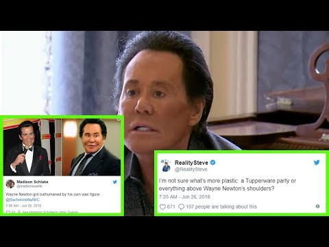 The Bachelorette: What is going on with Wayne Newton's face?