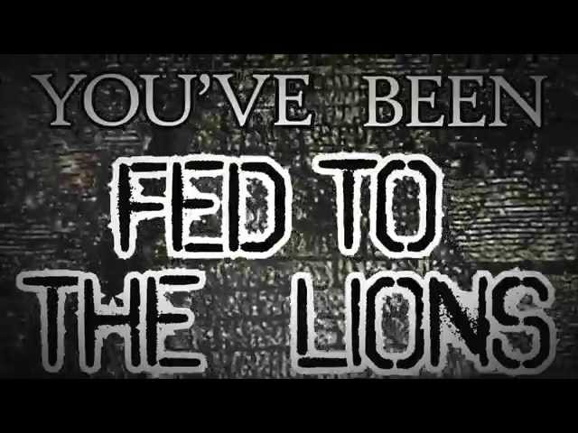 Mudface- Fed To The Lions (Official Lyric Video)