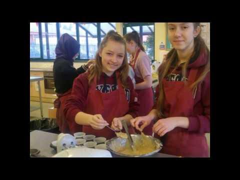 We cooked in Stroud High School