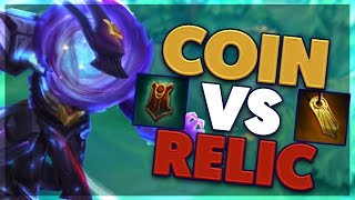 COIN VS RELIC, WHICH IS BETTER?? | THRESH SUPPORT | BunnyFuFuu