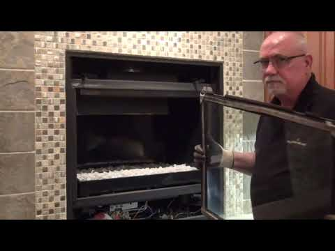 How to Clean the Glass on a Heat & Glo® Gas Fireplace
