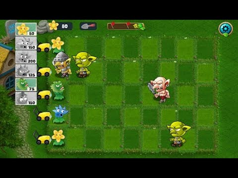 Plants vs Goblins | Addictive game-play with strategy levels.