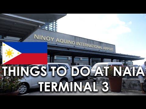 Things to do at MANILA INTERNATIONAL AIRPORT -NAIA Terminal 3 || VLOG 14