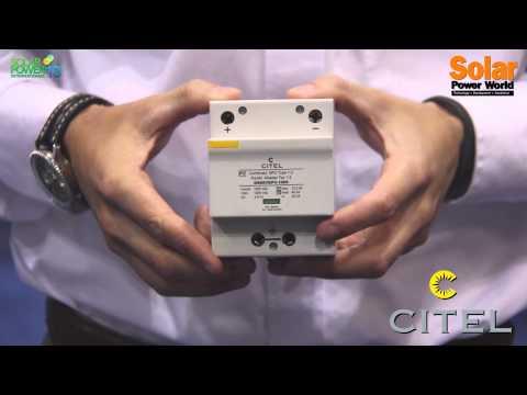 Solar Power International 2013 – Citel – Booth Tour