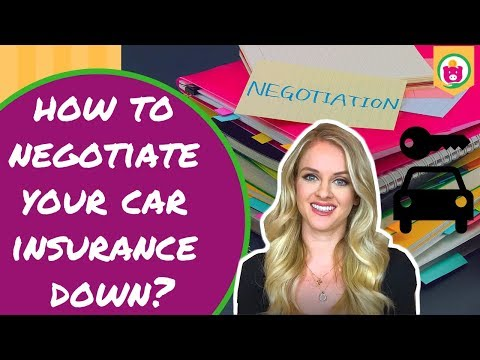 How to Negotiate Your Car Insurance Down | Save Money Tricks |