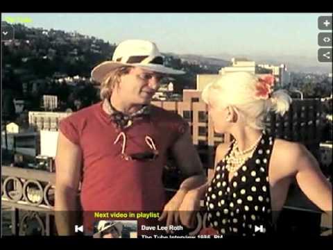 David Lee Roth interview 1986