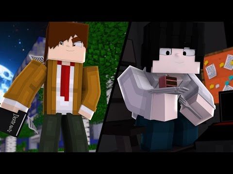 Minecraft DEATH NOTE - L VS KIRA ? #2 ‹ Sky ›