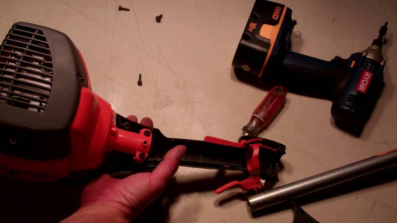 Husqvarna 128LD Trimmer Shaft Replacement