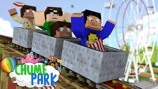 Minecraft: MELHOR MONTANHA-RUSSA! (Chume Park #2)
