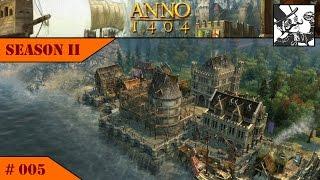 Anno 1404 - Venice: Season II #005 Preparing for envoys and the Storage Monument!