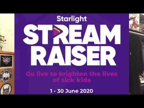 Everblack Media Stream Raiser for the Starlight Children's Foundation