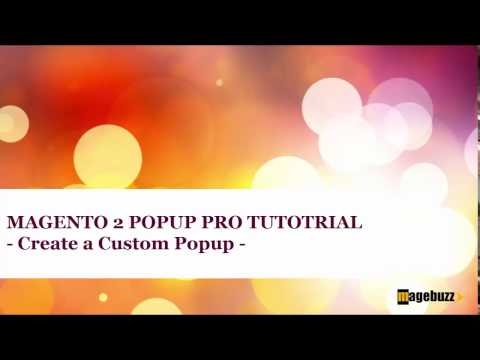 Magento 2 Popup Plus Tutorial - How to Create Custom popup