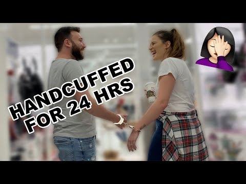 HANDCUFFED TO MY HUSBAND FOR 24 HRS thumbnail