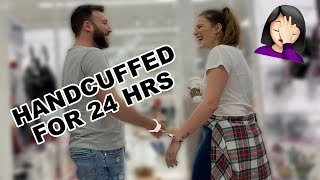 HANDCUFFED TO MY HUSBAND FOR 24 HRS