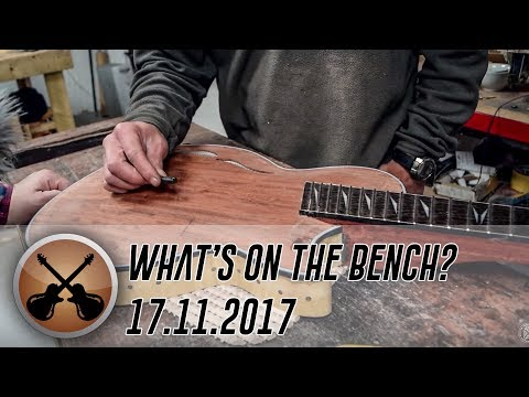 What's on the Bench? -  17/11/2017