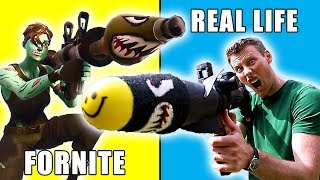 REAL LIFE FORTNITE Rocket Launcher | Nerf Mod!