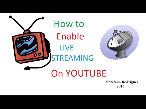 How to enable live streaming on YouTube + Discover The Functions