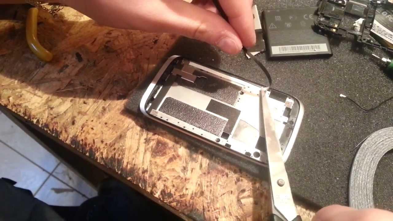 HTC Desire V t328w замена флеш, восстановление boot - YouTube